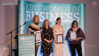2016 Woman in Construction at the Kent Women in Business awards