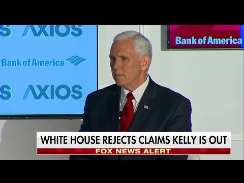 Mike Pence Expresses 'Great Confidence' in John Kelly Amid Rob Porter Scandal