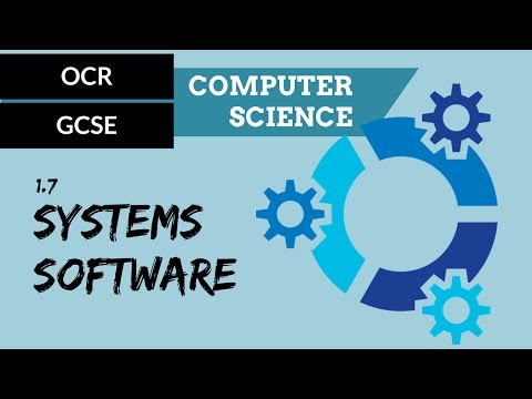 OCR GCSE 1.7 The Purpose And Functionality Of Systems Software