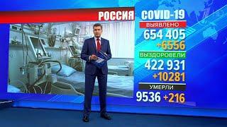 Количество новых случаев инфицирования коронавирусом в России стабильно снижается