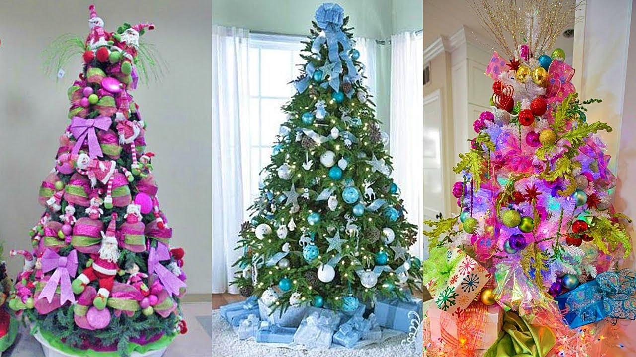 Arbol de navidad de colores para tener la mejor fiesta de - Arbol navidad colores ...
