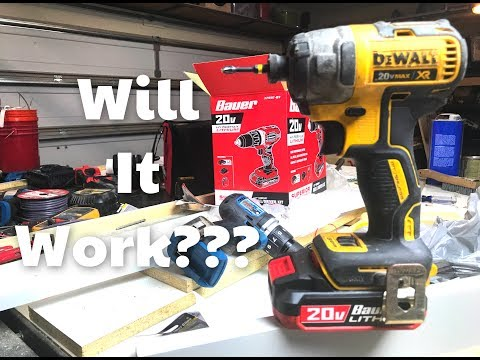 Will the Harbor Freight Battery work on DeWalt???