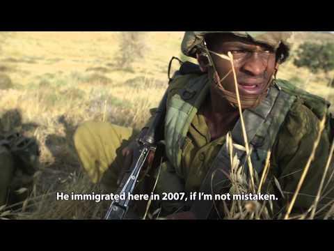 Inspiring Close-up On Ethiopian Israeli Recruit To IDF Paratroopers - 'Beneath The Helmet'