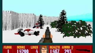 Wolfenstein 3D - Project: Toten Eisen Ritter - Level 1