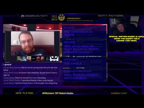 Weev on the Baked Alaska doxing allegations (CLIP - Killstream w/ TheRalphRetort)