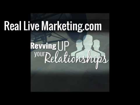 Real Live Marketing - Ep7 - Revving Up Your Relationships (feat. Robert Vogel)