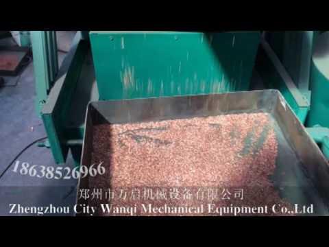 China Automatic Scrap copper wire cable making machine /copper wire granulating recyling machine