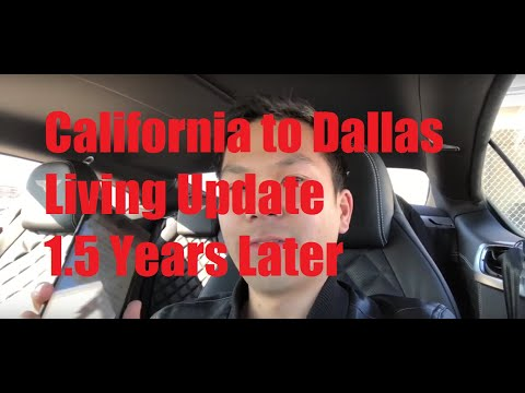 My California To Dallas, Texas Living Update | 1.5 YEARS LATER (Observations/Pros/Cons)