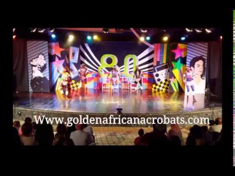 GOLDEN KENYAN ACROBATS SHOW TEAM'S