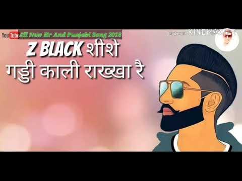 Z BLACK MD KD | Divya Jangid, Ghanu Music |  All New Hr, Punjabi & Whatsapp Status 2018