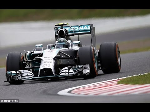 Nico Rosberg qualifies on pole for Japanese Grand Prix with Lewis Hamilton in second