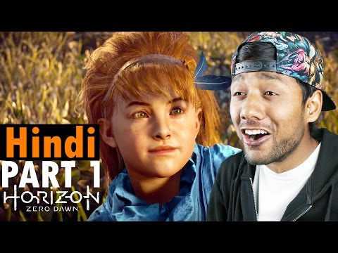 """HORIZON ZERO DAWN Part 1 """"Aloy/Gift from the Past/Lesson Of A Wild"""" Hindi Gameplay PS4"""