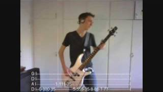 Afterlife - Avenged Sevenfold - Bass Cover (With Tabs!)