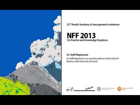 NFF ráðstefna 2013 - Dr. Gylfi Magnússon HD