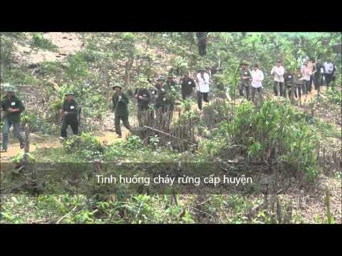 Diễn tập PCCCR - TKCN Lang chánh 2012