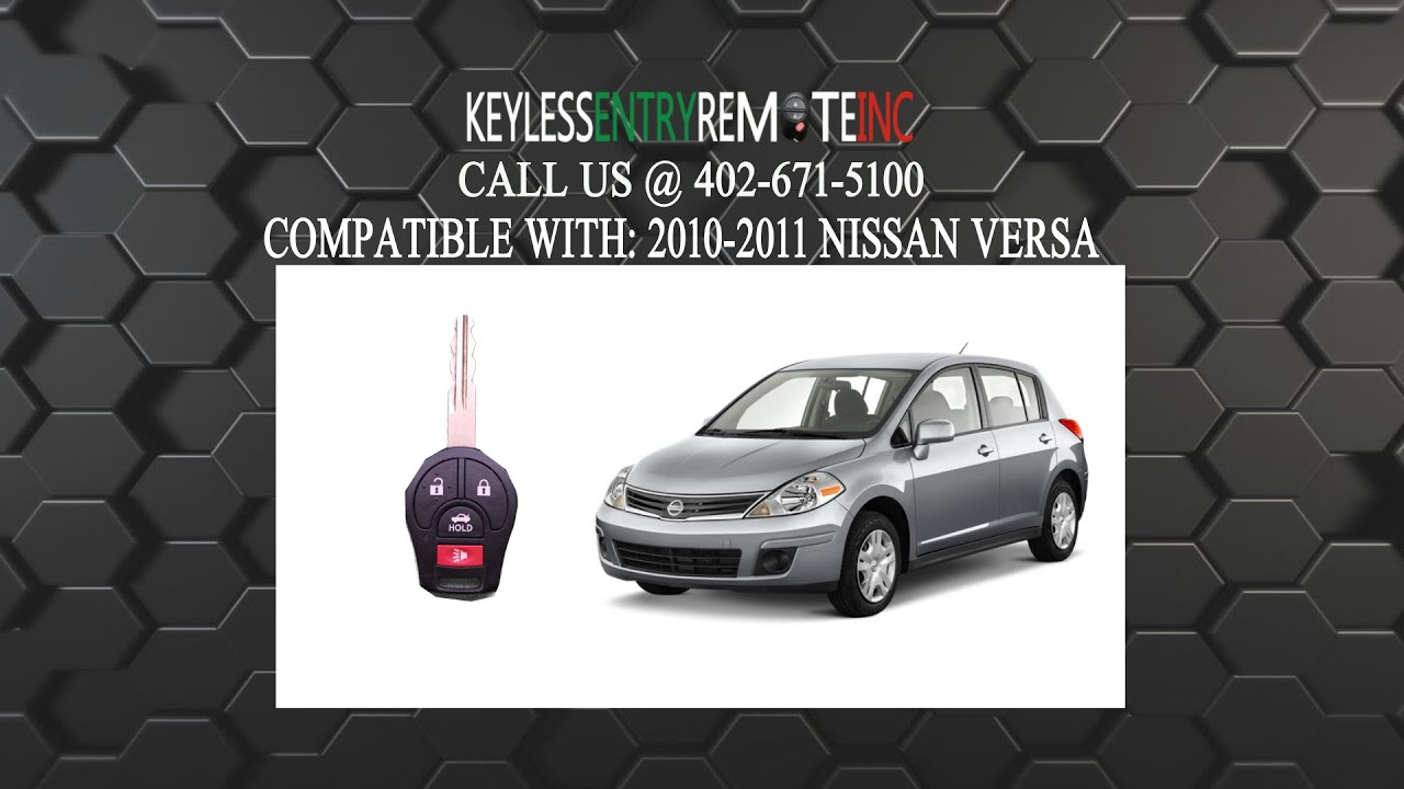 How To Replace Nissan Versa Key Fob Battery 2010 2011