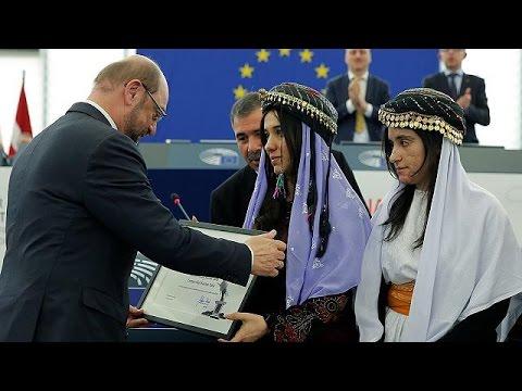 Ezidi kadın aktivistler Saharov...