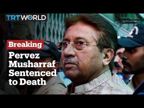 Former president Pervez Musharraf handed death penalty