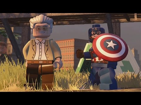 LEGO Marvel's Avengers - Manhattan 100% Free Play Guide - Financial District (All Gold Bricks etc.)