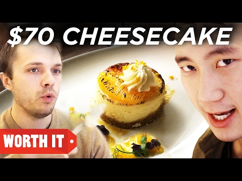 Thumbnail: $4 Cheesecake Vs. $70 Cheesecake
