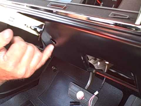 1966 Chevelle Tach - How to install - YouTube