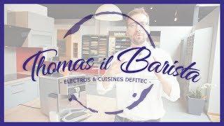 Expresso & cappuccino - Machine à café automatique SIEMENS EQ9 TI909701HC - Thomas il Barista