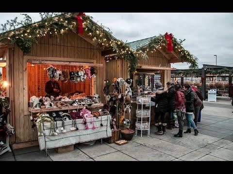 European Christmas Market in Saint Paul, Minnesota