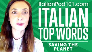 Want to Save the Planet? Earth Day in Italian