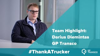 Team Highlight: Darius Diemintas | GP Transco