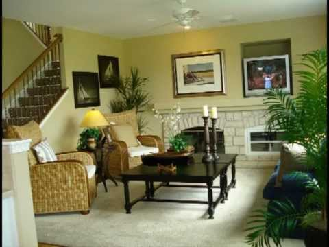 Home Decorated model home interior decorating part 1 - youtube