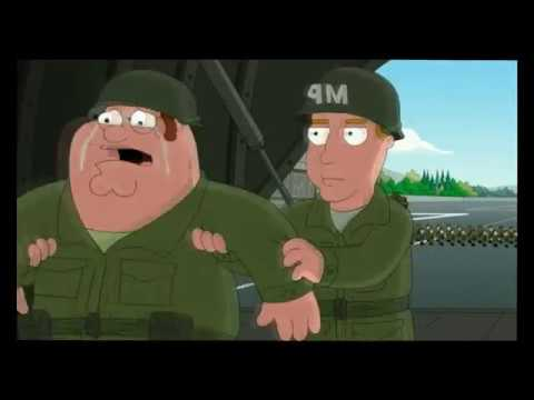 Family Guy- Peter Joins the Army
