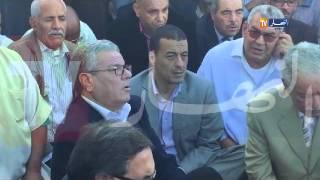 فيديو حصري ..  سعيداني يذرف الدموع امام الجميع والسبب ..!!