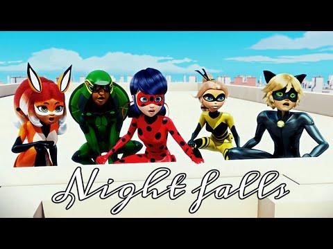 Descendants 3 Night Falls|Miraculous Ladybug And Cat Noir