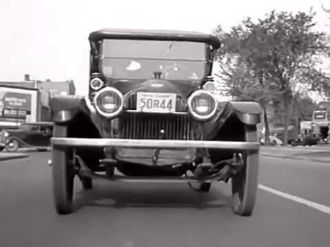 doc - 1914 Chevrolet Series H Royal Mail Roadster Car Driven 250,0000 Miles 1936 Chevrolet Newsreel