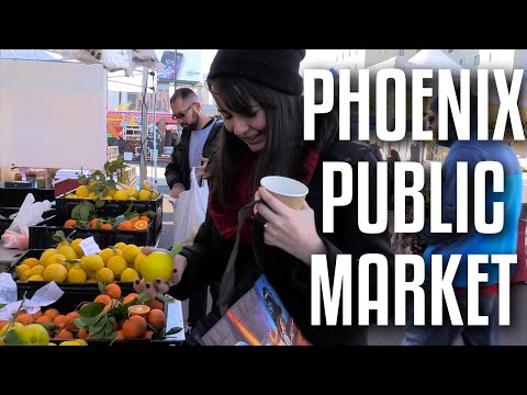 Phoenix Public Market / Coffee, Local Food, and Great People!