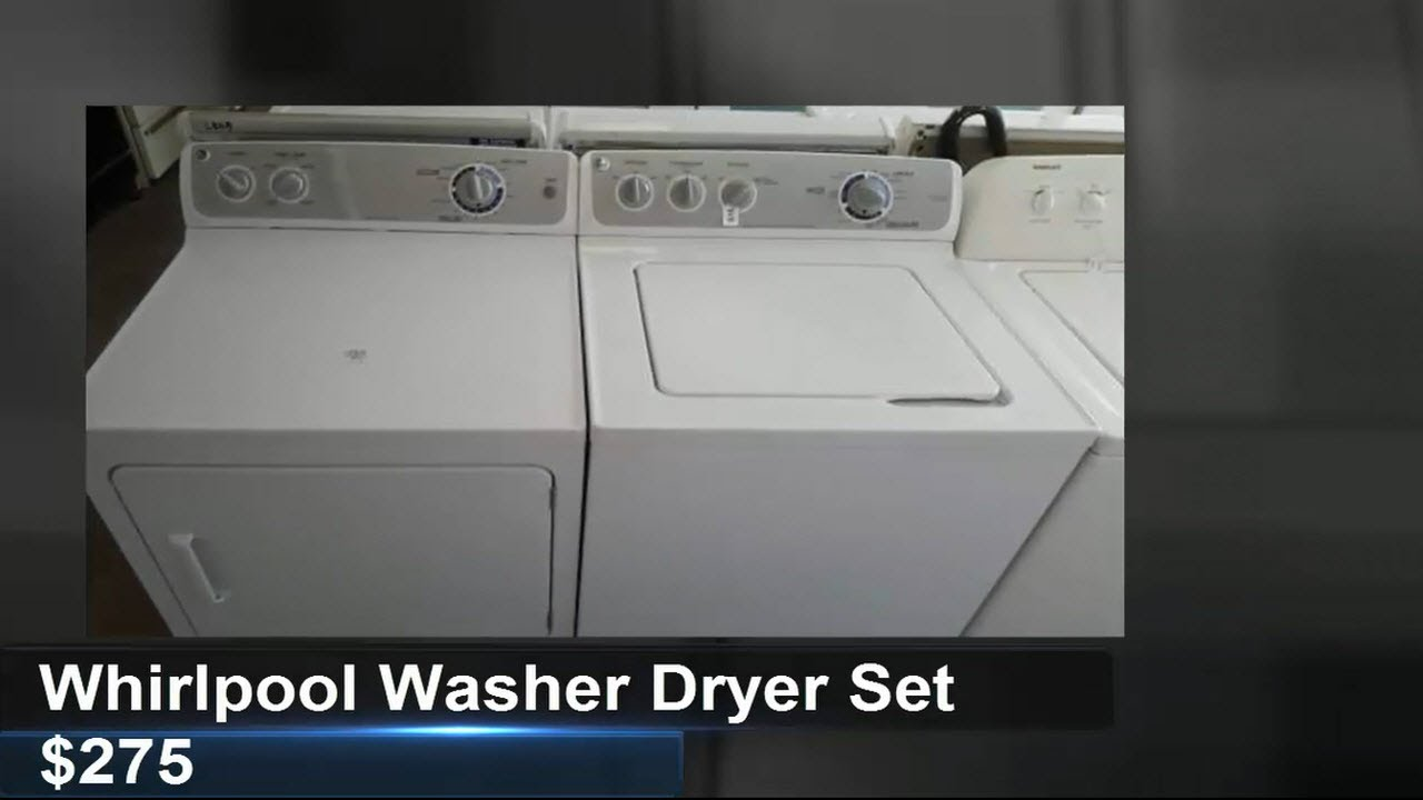 Whirlpool Washer Dryer Set For Sale Tampa 275 Youtube