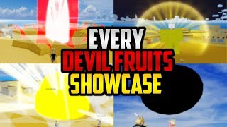 🌟 EVERY DEVIL FRUITS SHOWCASE IN BLOX PIECE!