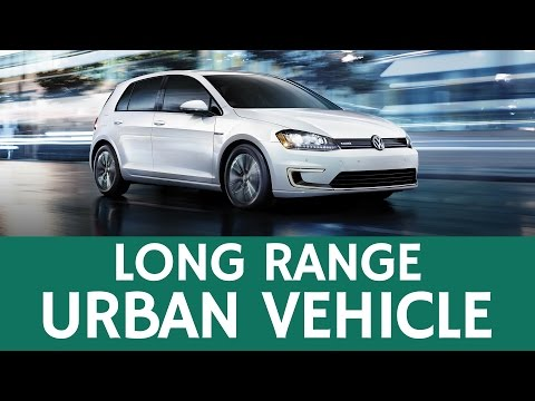 Small City Car with Best All-Electric Range: Volkswagen E-Golf