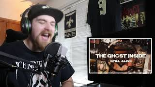 The Ghost Inside-1333 & Still Alive (REACTION!!)