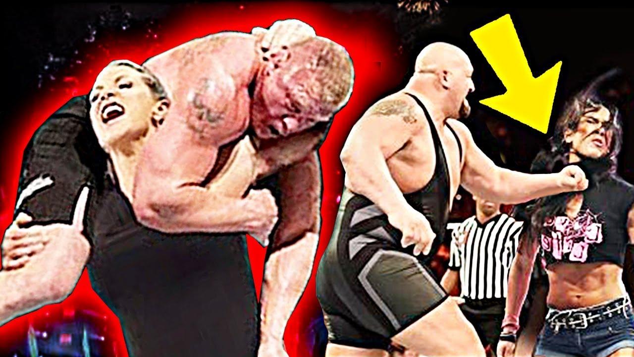 10 BEST WWE Man vs Woman Wrestling Matches!