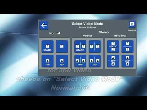 f61544e189e2 The Best VR Virtual Reality 360 180 and 3D Video Player - YouTube