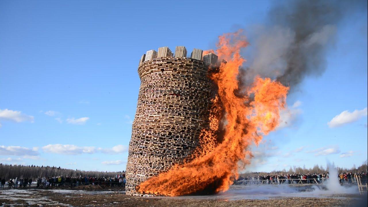 Сожжение Бастилии в Николо-Ленивце