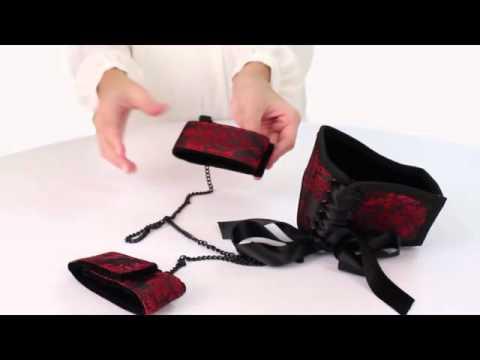 Scandal - Posture style collar w/ Cuffs