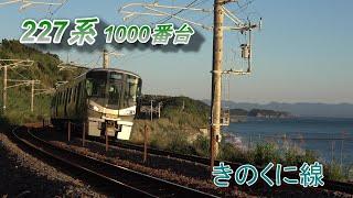 227系 きのくに線普通列車(海をバックに)