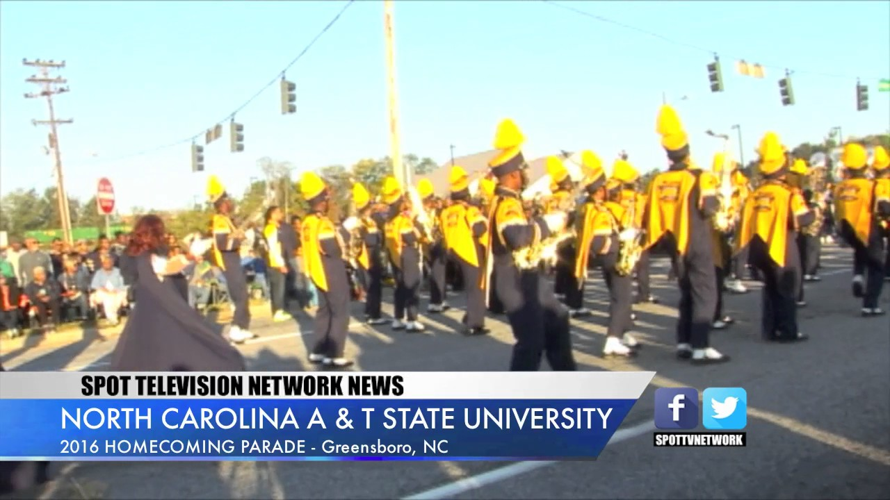 North carolina a and t state - North Carolina A T State University 2016 Homecoming Parade