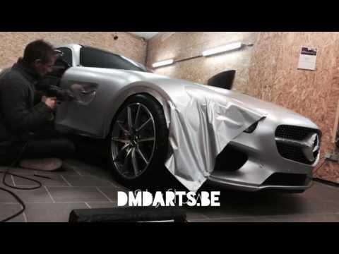 Mercedes GTS wrap by DmdArtsBe