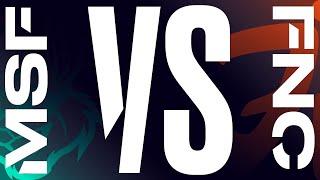 MSF vs. FNC - Week 6 Day 1   LEC Spring Split   Misfits Gaming  vs. Fnatic (2020)