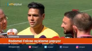 CANLI - Radamel Falcao açıklamalarda bulunuyor