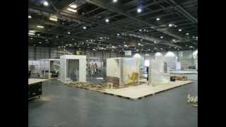 Exhibition Stand Construction Time-lapse Photos