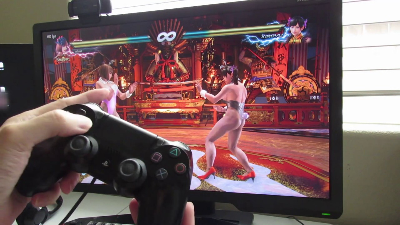 How To Play Tekken 7 On Pc With Ps4 Controller Youtube